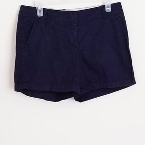 Black J. Crew Cotton Short